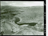Aerial view of Castaic Lake