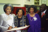 Honoree Nancy Wilson and Others during African American Living Legends Program